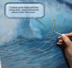 Understanding the contours and the anatomy of breaking waves