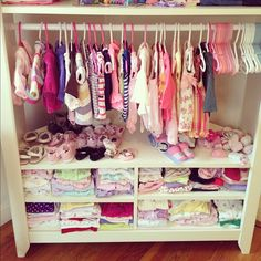 Perfect Tv Stand Turned Baby Clothing Storage
