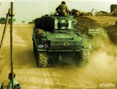Polish Sherman (PL) driving off the beach Poland Ww2, Sherman Tank, Ww2 Tanks, North Africa, Troops, Military Vehicles, World War, Wwii, Models