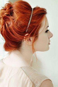 Copper hair                                                                                                                                                                                 More
