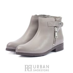 Botine casual din piele naturala - 438 Taupe Box Chelsea Boots, Box, Casual, Shoes, Fashion, Moda, Snare Drum, Zapatos, Shoes Outlet