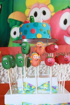 My Party: VeggieTales Birthday - 4 years / Festa Os Vegetais - 4 anos