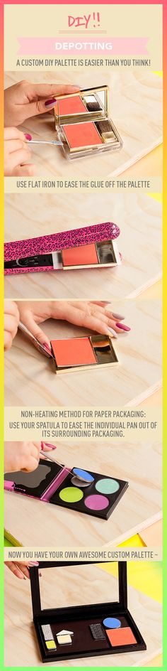 Depotting Demystified: A Custom DIY Palette Is Easier Than You Think…