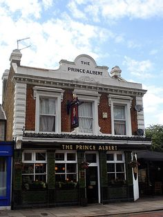 the prince albert pub Pubs And Restaurants, Pub Food, London Pubs, Prince Albert, Store Fronts, My Happy Place, Windows, Mansions, House Styles