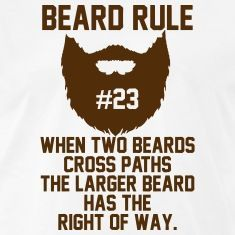 beard rules | Beard Rules T-Shirts