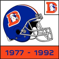 Denver Broncos Helmet History