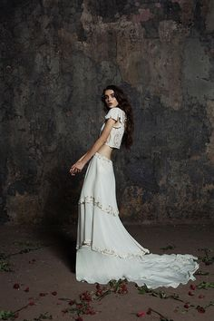 The Risley Long Gown from The Bo and Luca Cassiopeia Collection | www.onefabday.com