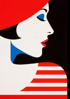 I'M loving the bold and graphic illustrations of french artist, malika favre, and her play and use of positive and negative space. whether in art, design, Art And Illustration, Graphic Illustrations, Arte Pop, Tableau Pop Art, Art Deco Paintings, Pop Art Women, Pop Art Girl, Diamond Paint, Art Deco Posters