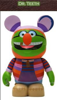 Muppets 2 series Vinylmation - have this one!  Love the Mayhem!