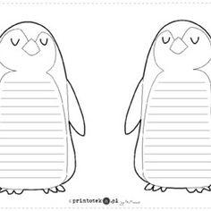 pingwin szablon do wydruku - Szukaj w Google
