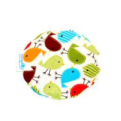 Termofor z pestkami wiśni PTASZKI Warmer with Cherry Stones Birds https://fiorino.eu/