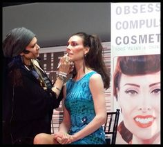 Wish to erase poor bone structure? @Obsessive Compulsive Cosmetics Professional Brushes are now available on @Sephora.com!  http://fb.me/39hvj6nX9   OCCmakeup.com - David Klasfeld Lead makeup artist - Courtney Tichman Hair - Nicky Whitten
