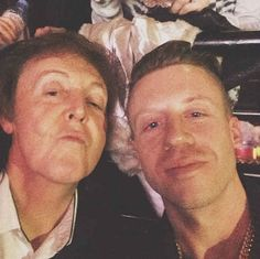 And Macklemore got this selfie during the show: | 21 Celebrity Instagrams From The Grammys That You Need To See