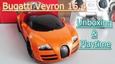 Bugatti Veyron 16.4: Toy Car Unboxing and Playtime   Toys For Kids