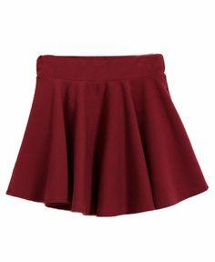 Mid Rise Woollen Mini Skirt