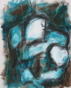 """Gianni Tarli """"S.T."""" #7,2007  acrilico su tela cm.150 x 120     www.piziarte.net"""