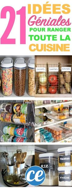 VISIT FOR MORE These DIY kitchen organization ideas are brilliant! The post These DIY kitchen organization ideas are brilliant! appeared first on Diy. Organizing Hacks, Organizing Your Home, Storage Organization, Cleaning Hacks, Diy Hacks, Diy Storage, Food Storage, Storage Shelves, Kitchen Organization Hacks