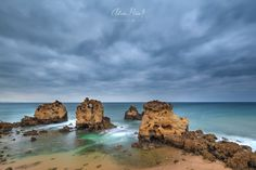 Shared by Adrián Mišiak and Featured by the team! Landscape Photos, Landscape Photography, Algarve, Beautiful Landscapes, Portugal, Water, Outdoor, Image, Colors