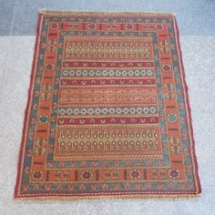 ON SALE Vintage Turkish Kilim RugSHIPPING by BUTTERFLYRugs on Etsy