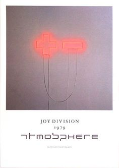 Credit: Courtesy of Movie Poster Art Gallery Joy Division - Atmosphere'Peter Saville designed completely new, wond. New Order Album Covers, Peter Saville, Poster Boys, Music Artwork, Album Design, Graphic Design Inspiration, Music Bands, Manchester, Typography