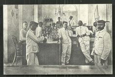 Soerabaia Bierhal Beer Hall Buffet Java Indonesia ca 1910 Surabaya, Indonesian Independence, City Of Heroes, Berry, Ancient Names, East India Company, Dutch East Indies, Dutch Colonial, Old Pictures