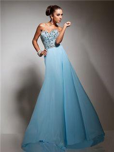 Carolina Blue Prom Dress