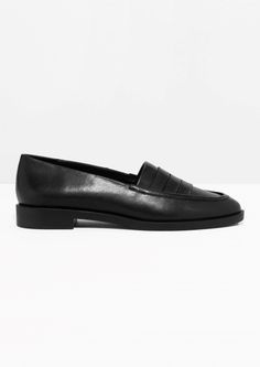 & Other Stories   Leather Loafers