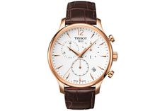 1 - Tissot Tradition Rose Gold Chronograph