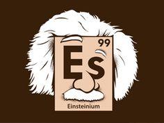 ¿Hay algún elemento de la tabla periódica dedicado a Einstein? http://www.muyinteresante.es/historia/preguntas-respuestas/hay-algun-elemento-de-la-tabla-periodica-dedicado-a-einstein-441366277208 #curiosidades #Einstein #ciencia