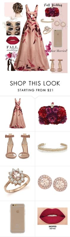"""""""ALWAYS LOVE YOU"""" by styledbyross ❤ liked on Polyvore featuring Lela Rose, Alexander McQueen, Gianvito Rossi, Maison Margiela, Bloomingdale's, Givenchy, Agent 18, Smashbox and fallwedding"""