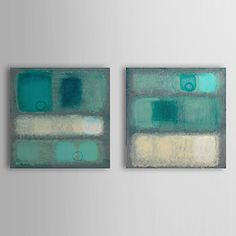 Hand Painted Oil Painting Abstract with Stretched Frame Set of 2 1308-AB0734 – AUD $ 94.44