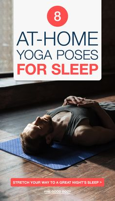 Try these easy at-home yoga poses for sleep! Bend and stretch your way to a great night's rest with our list of the best yoga poses for sleep. Yoga is proven to help you fall asleep quicker and sleep better, there are certain poses that are particularly known to induce and improve the quality of your sleep. #Yoga #YogaForSleep #YogaPoses #SleepHealth yoga poses for beginners YOGA POSES FOR BEGINNERS | IN.PINTEREST.COM HEALTH EDUCRATSWEB