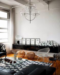 Masculino, contundente y soberbio. Un loft en Manhattan | Ministry of Deco