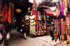 Souk, Marrakesh, Morocco