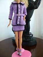 Crochê para Barbie. PAPs, receitas e gráficos de crochê de roupas, sapatos e bolsas para Barbie. Artesanato, DIY, decoração com crochê. Roupa para bebês.