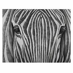 This gorgeous hand painting by R. Atkins is a contemporary take on a zebra, using grays and ivory to bring this contemplating creature to life.    Silver Zebra features a 100% hand painted image on canvas, inspired by a zebra with a contemporary twist. Z Gallerie exclusive.