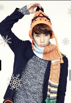 b1a4's cute maknae, gongchan~!! <3   Kpop fans are the luckiest ppl.. that was random lol xP