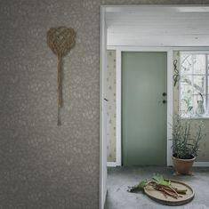 Emrik by Sandberg - Sage Green - Wallpaper : Wallpaper Direct