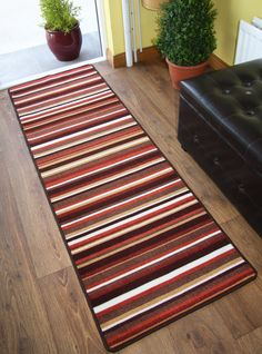 Machine Washable Non Slip Hall Runner Rugs New Long Easy Clean Hallway Mat