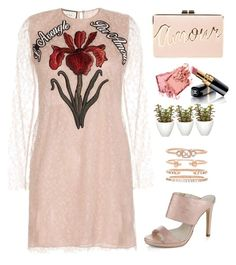 """""""Pastel trendy look"""" by rousou ❤ liked on Polyvore featuring Gucci, Alba Moda, Shashi, Pomax, Bobbi Brown Cosmetics, Chanel and BCBGMAXAZRIA"""