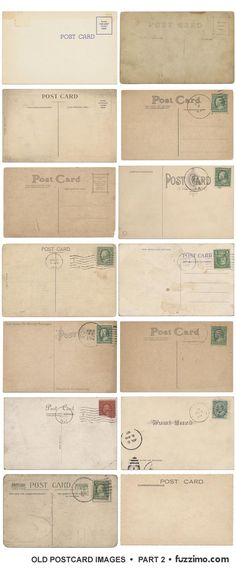 Oh My Goodness! Downloadable Antique Post cards..... I have to figure out something to do with these!!