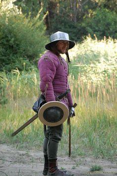 XVth century medieval soldier