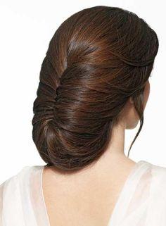 New Hair Updos Chignon Ideas Wedding Ponytail Hairstyles, Pretty Hairstyles, Braided Hairstyles, French Roll Hairstyle, French Twist Hair, French Braid, Hair Pictures, Hairstyles Pictures, Vintage Hairstyles
