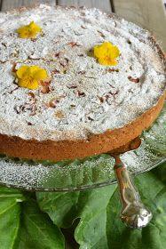 Celebration Treats 4U: Raparperipiirakka pehmeällä Mascarpone -täytteellä Camembert Cheese, Cake Recipes, Food And Drink, Treats, Baking, Celebration, Easy, Desserts, Deserts