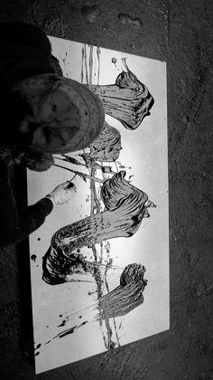 Fabienne Verdier - Contemporary Artist - L'art de la calligraphie monumentale - 2015