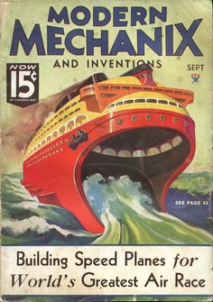 Modern Mechanix Cover