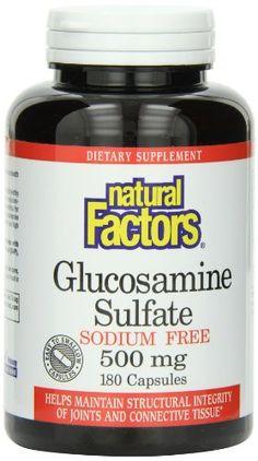 Natural Factors Glucosamine Sulfate  Sodium Free 500mg  180 Capsules Review https://bestprenatalvitamin.review/natural-factors-glucosamine-sulfate-sodium-free-500mg-180-capsules-review/