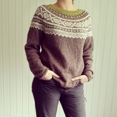 Bilderesultat for marius genser Zentangle Patterns, Knitting Patterns, Knitting Ideas, Get Dressed, Warm And Cozy, Outfit Of The Day, Knit Crochet, Men Sweater, Pullover