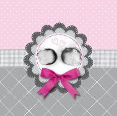 Lief #geboortekaartje voor #meisjes #tweeling