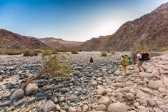 Your guide to hiking the Fish River Canyon in Namibia, including medical forms, advice on what to take, costs, booking information and maps. Paladin, Trail Running, Survival, Hiking, Magazine, Activities, Adventure, Mountains, Water